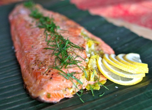 Baked Salmon with Mayonnaise Recipe  SAVEUR
