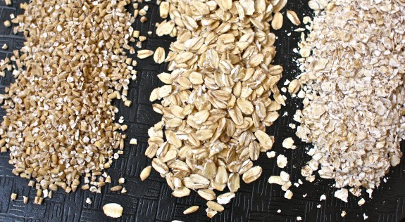 Old Fashion Oats And Flax Seed