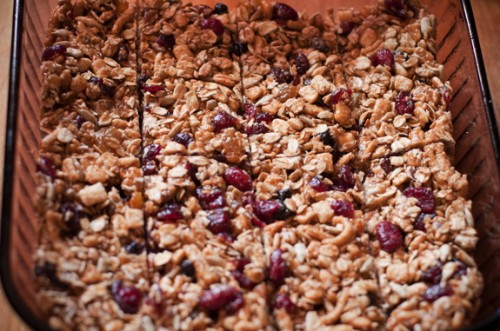 Berry Granola Bars