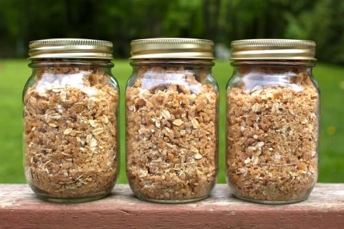 Frugal Freezer Idea: Do Ahead Fruit Crisp Topping - Frugal Lancaster