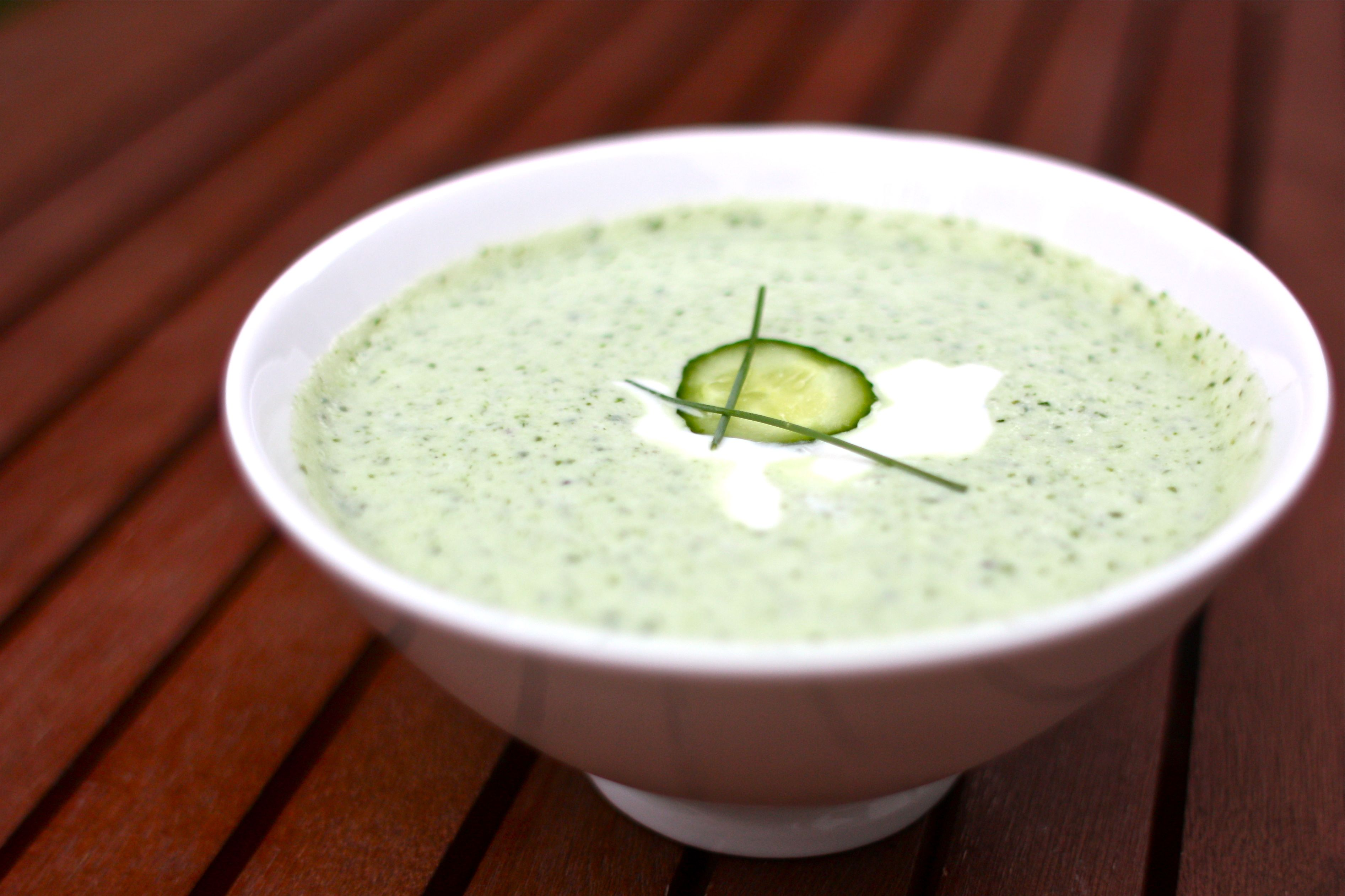 Chilled Cucumber Soup (Tarator) Recipe — Dishmaps
