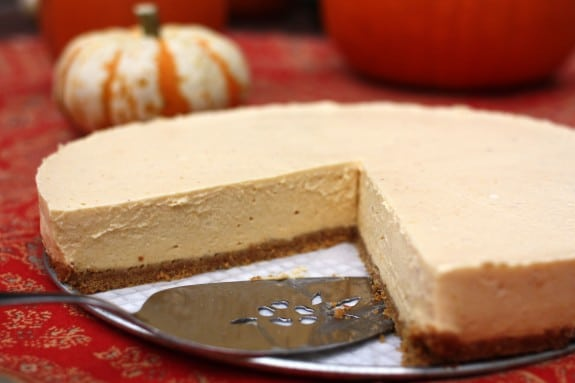 Easy recipes for pumpkin cheesecake