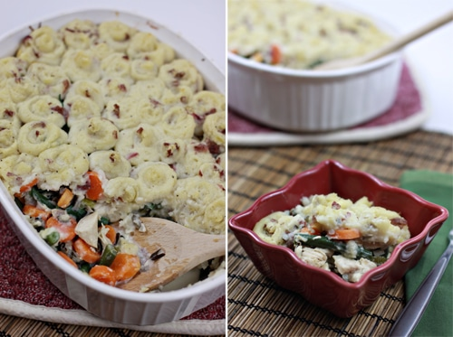 ... pie pie a delicious combination of chicken pot pie and shepherd s pie