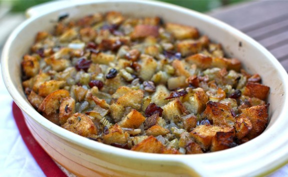 ... Thanksgiving (Recipe: Bread Stuffing with Seasonal Fruits & Herbs