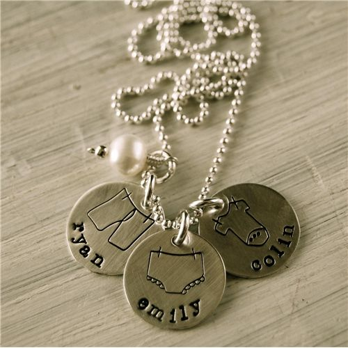 e038a1ac95 Each piece of Lisa's custom-made, hand-stamped jewelry is a work of art,  each piece more beautiful than the last. Not only are they personalized  pieces of ...