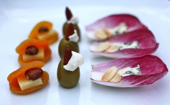 Three quick three ingredient appetizer recipes endive for Quick and easy canape ideas