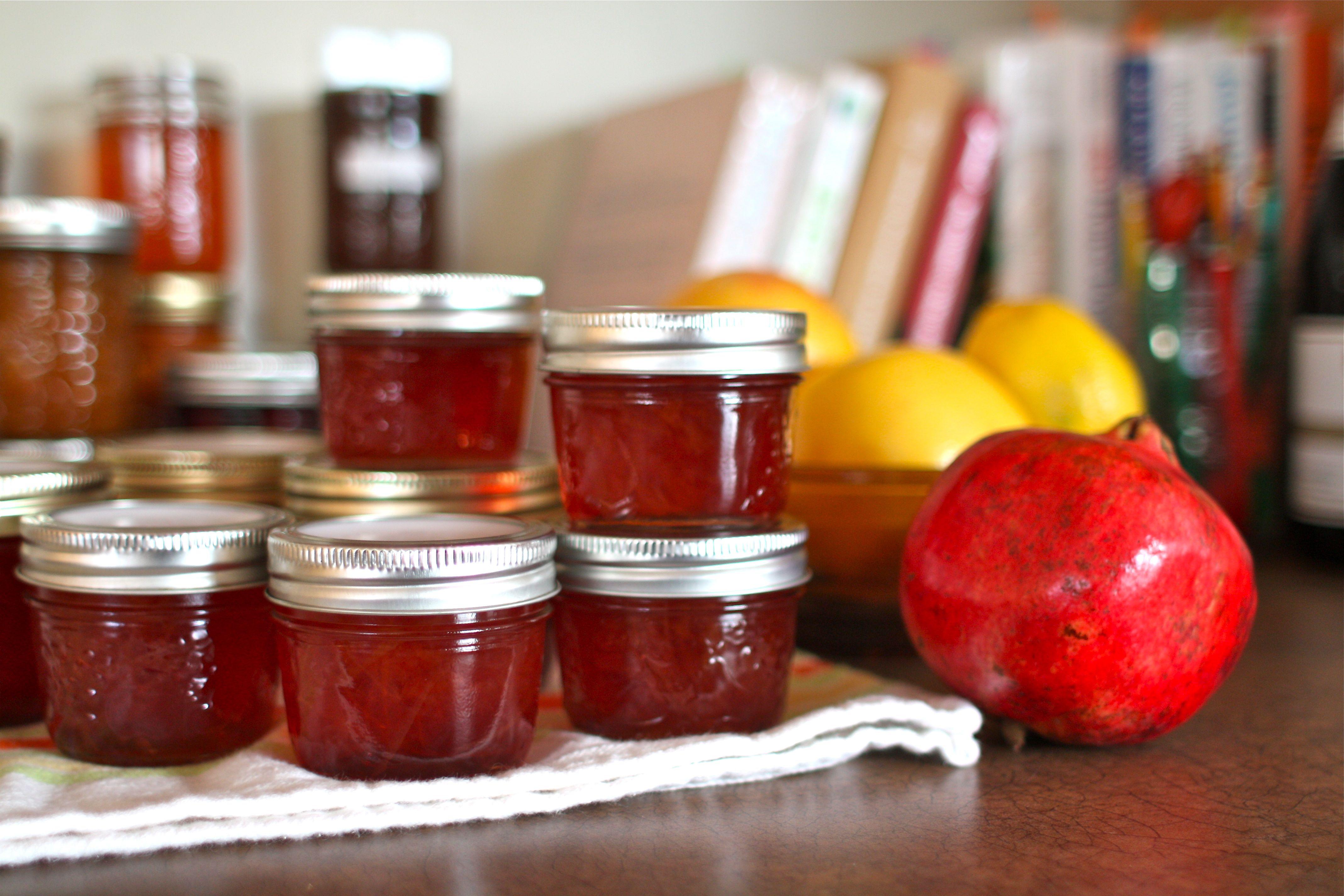 ... (recipe: Pink Grapefruit & Pomegranate Marmalade) | Simple Bites