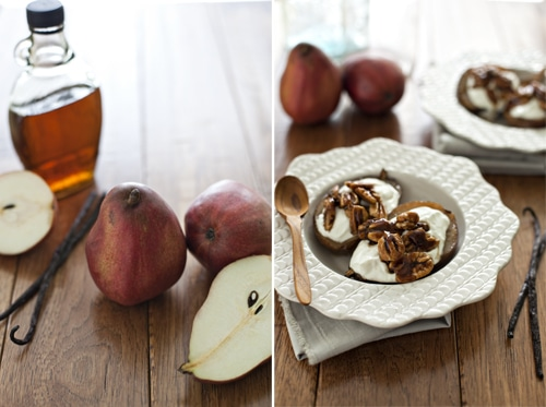 ... Breakfasts (Recipe: Maple Vanilla Roasted Pear Parfait) | Simple Bites