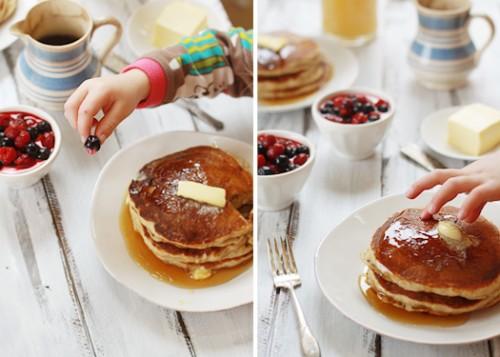 whole grain pancake breakfast