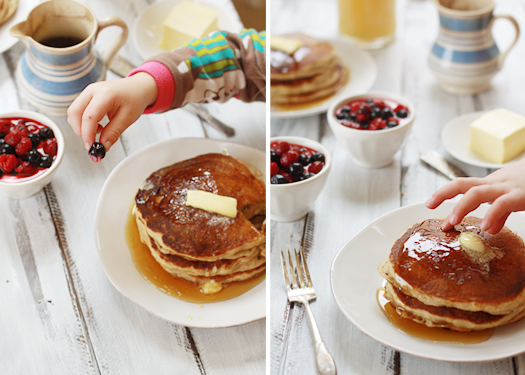 whole grain pancake breakfast