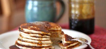 Three Favorite Pancake Recipes Buckwheat Cornmeal Whole Wheat