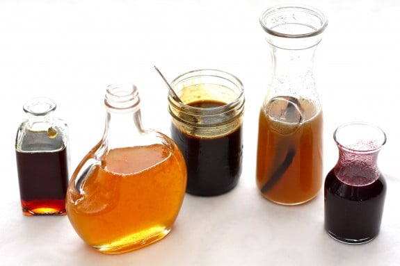Five Simple, Natural Recipes for Homemade Pancake Syrup www.simplebites,net