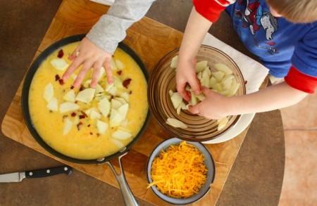 ABC Frittata (Apple, Bacon, Cheddar ...