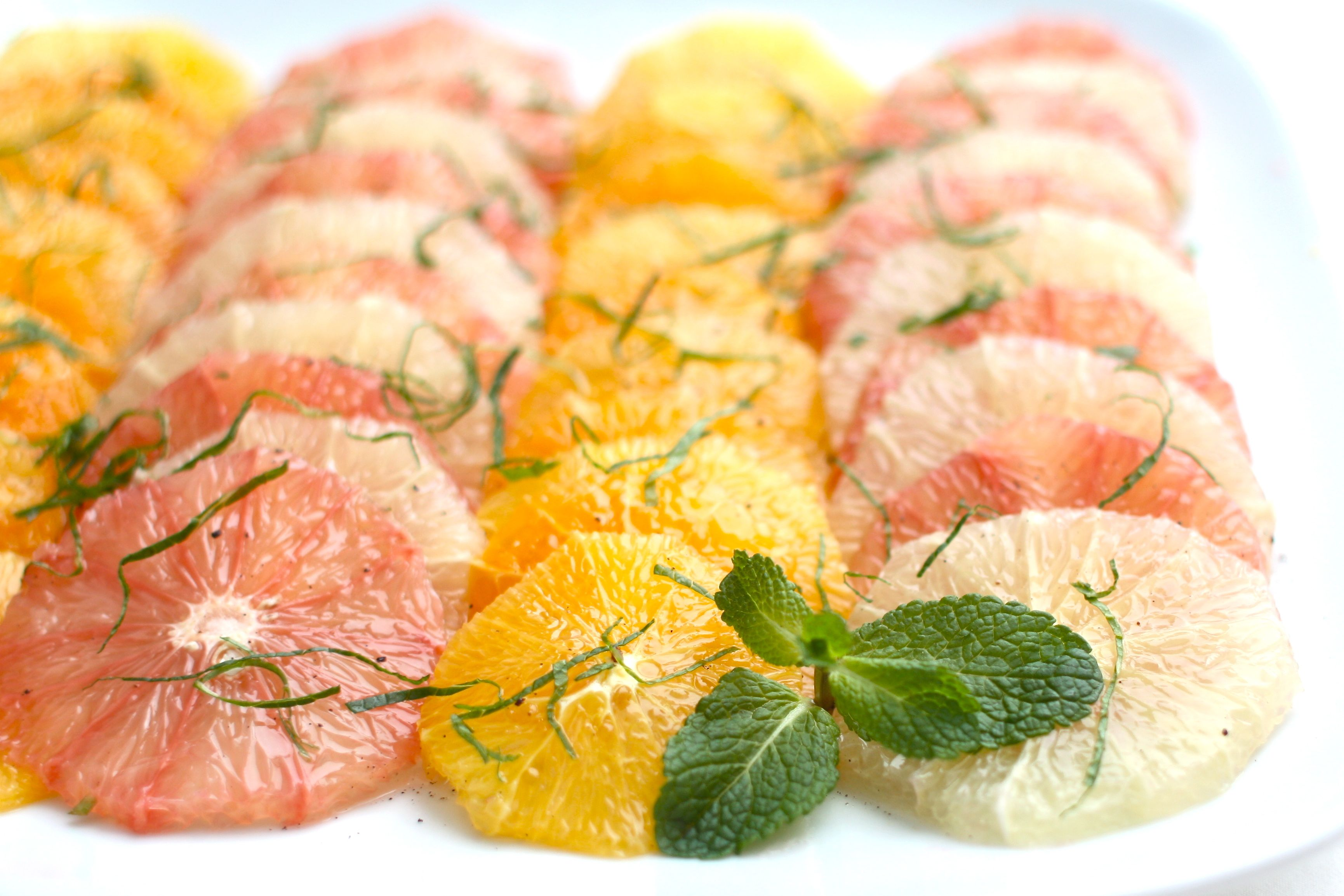 citrus mint salad