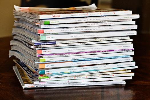food and recipe magazines