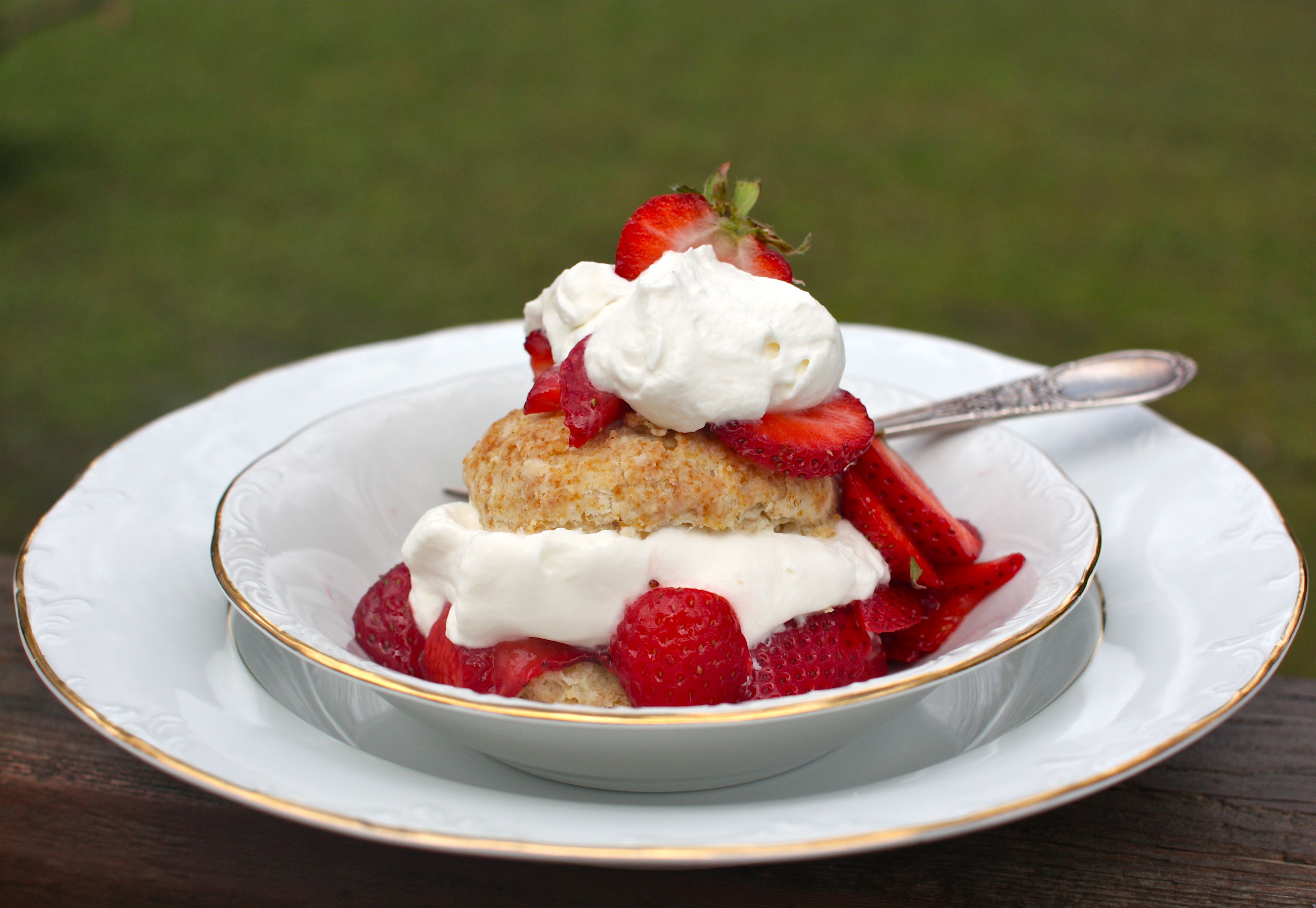Honey Whole-Wheat Strawberry Shortcakes for Mother's Day ...