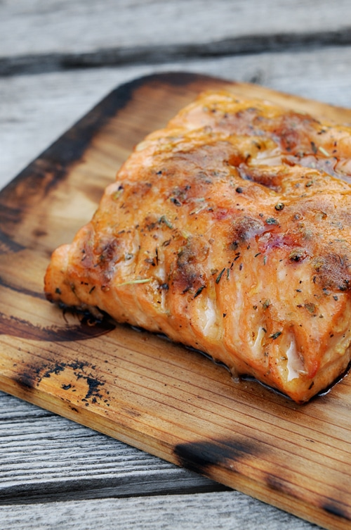 Grilling Salmon {Recipe: Grilled Cedar Plank Salmon} | Simple Bites