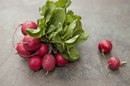 Radishes 3 Ways (Recipe: Radish Sandwiches, Salad and Herb Butter ...