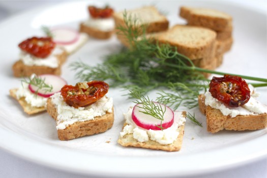 ... Summer Appetizer (Recipe: Creamy Homemade Ricotta) | Simple Bites