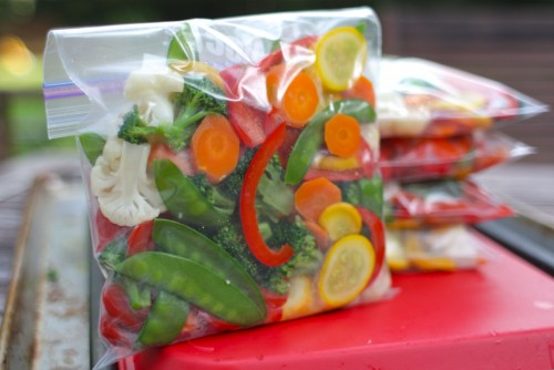DIY stir fry frozen vegetables