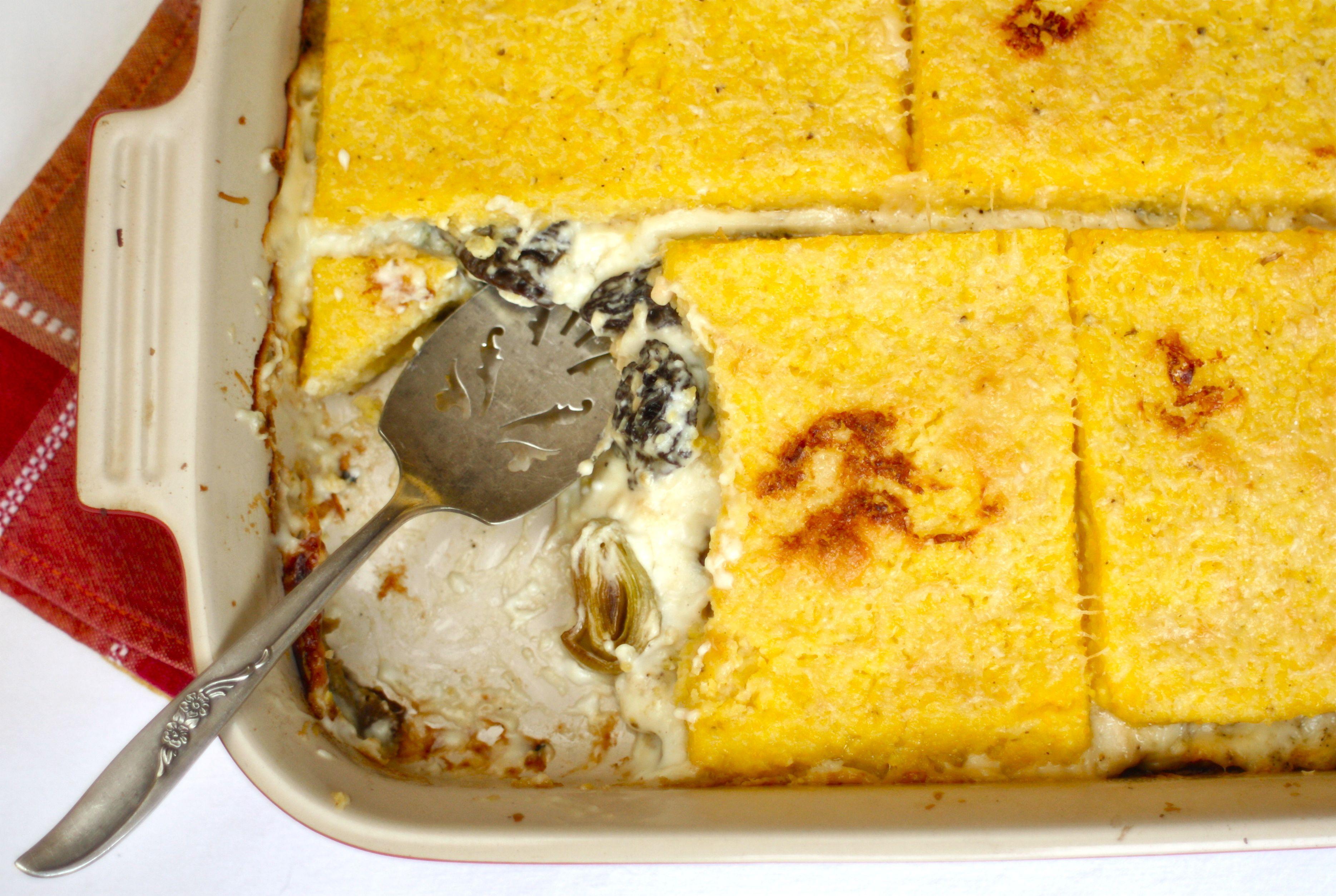 Eggplant And Mushroom Polenta Bake Recipes — Dishmaps