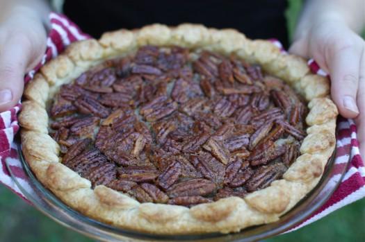 An Unprocessed Dessert (Recipe: Maple Pecan Pie)