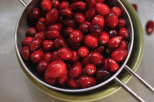 how to make cranberry compote