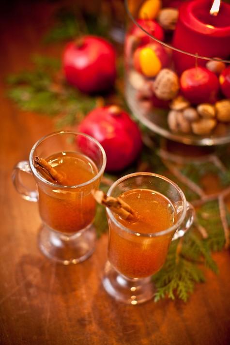 how to serve hot cider