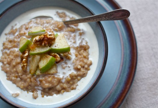 How to Cook Apple Pie Steel-Cut Oats in a Slow-Cooker ...