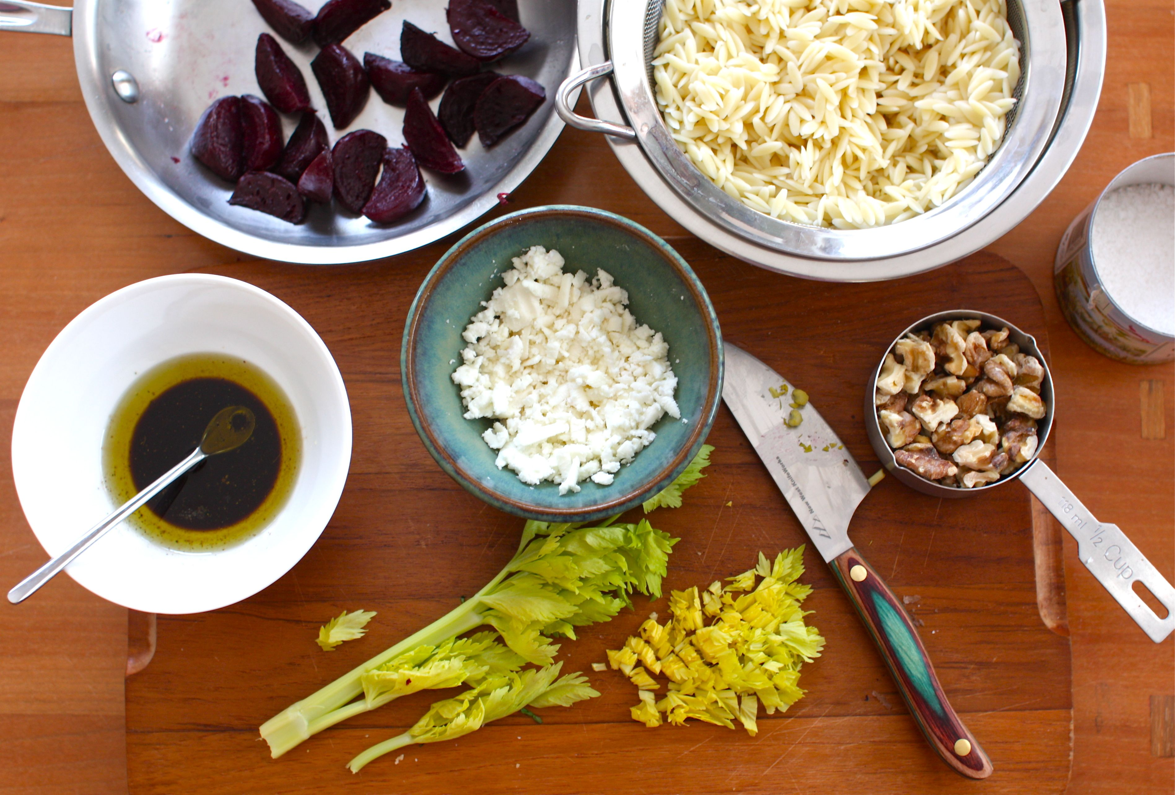 ... Ingredient: Beets (Recipe: Beet & Orzo Salad with Feta) | Simple Bites