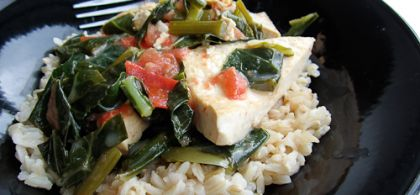 Coconut-Lime Tofu
