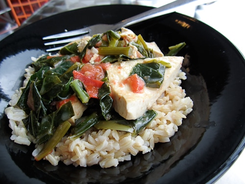Coconut-Lime Tofu