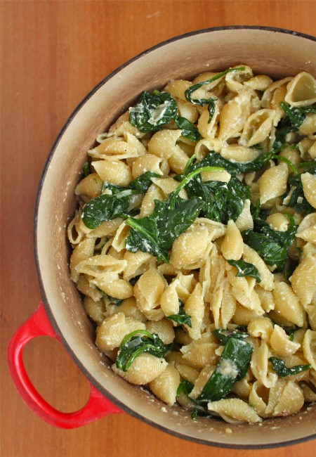 Spinach pasta recipe for toddlers