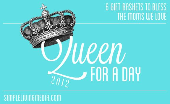 queen for a day giveaway 2012 simple bites. Black Bedroom Furniture Sets. Home Design Ideas