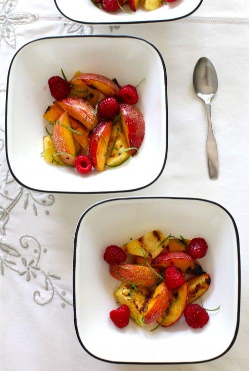 Romantic Breakfast Recipe - Grilled Fruit Salad | Romantic Food Ideas