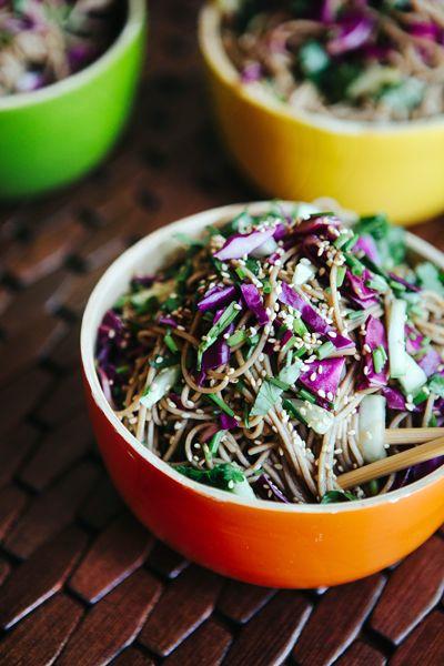 Quick Asian Noodle Salad Recipe
