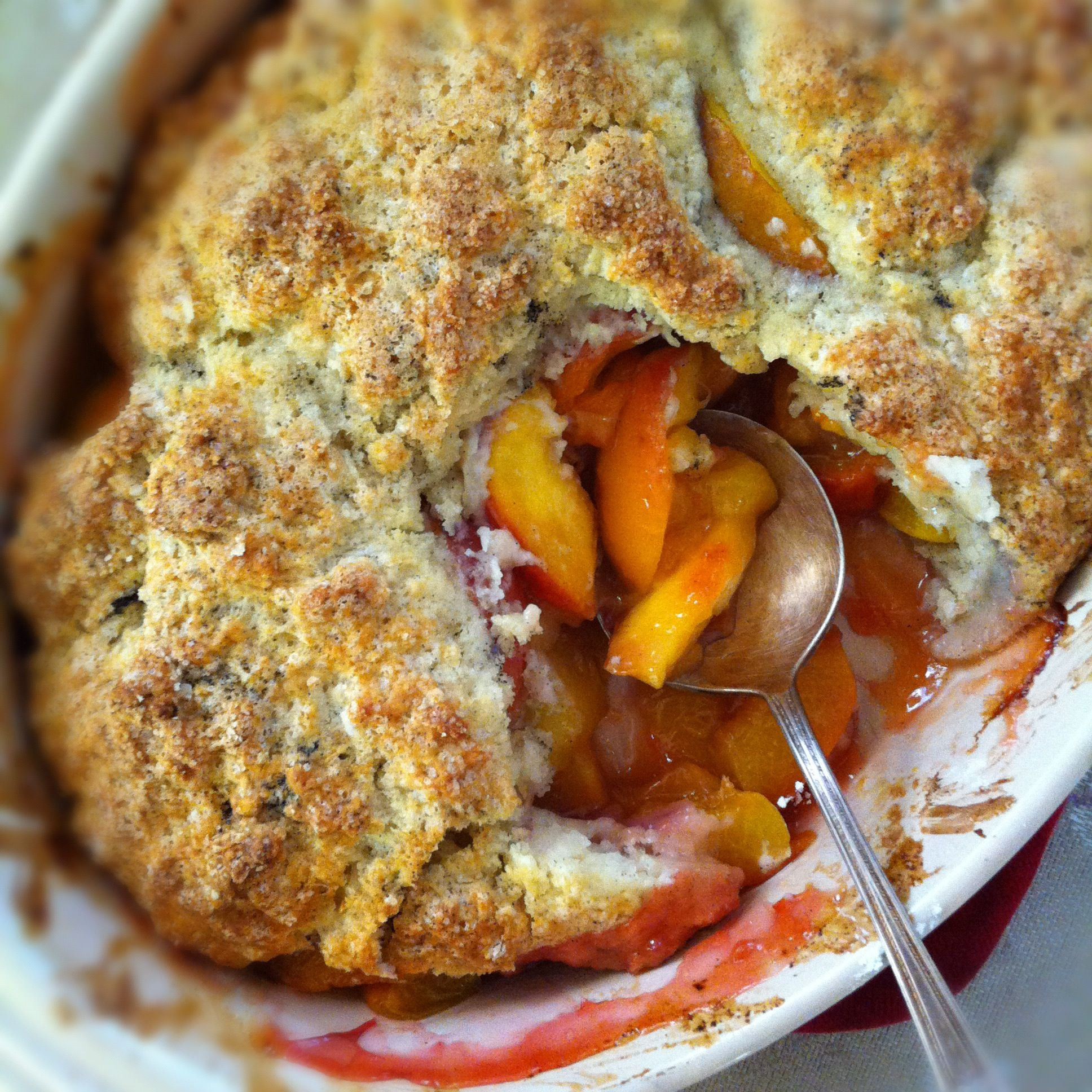 Sweet Cherry, Black Plum And Yellow Peach Cobbler Recipes — Dishmaps
