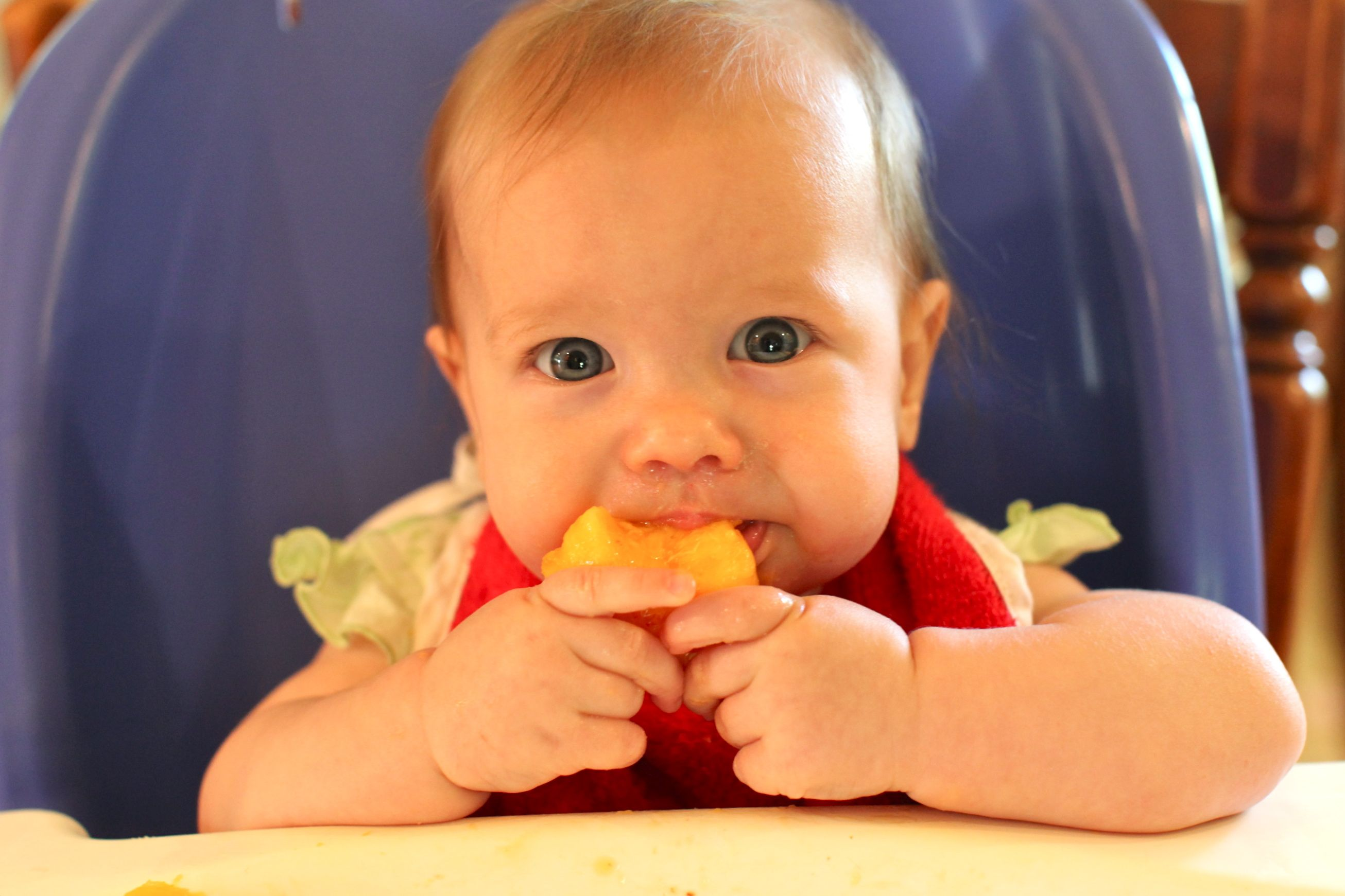 Image result for baby eating sweet potato