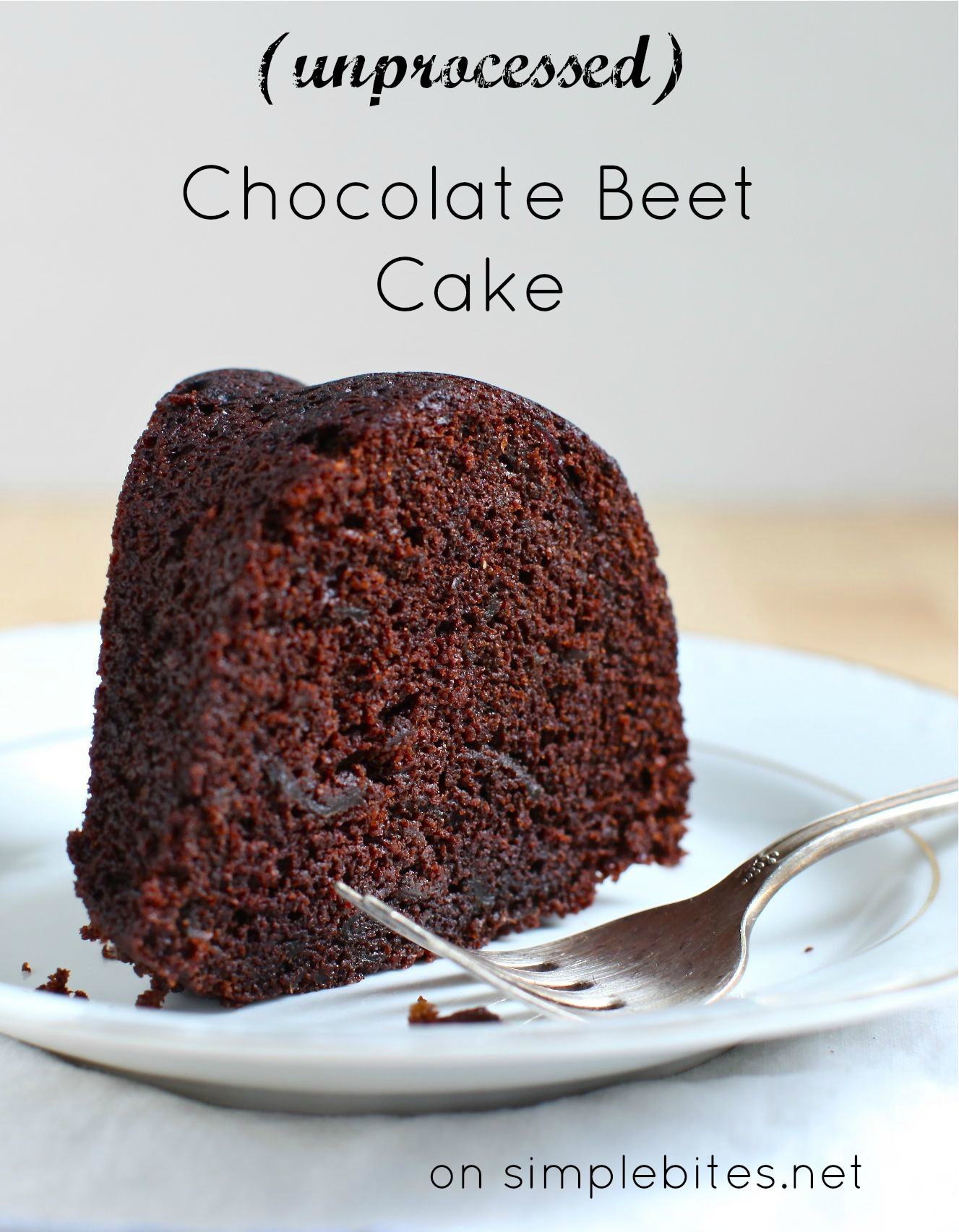Chocolate Beet Bundt Cake