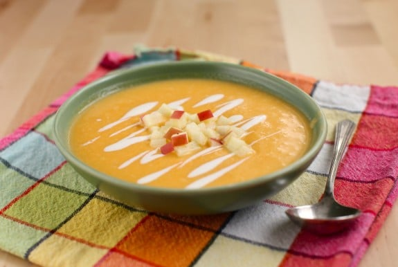 ingredient Butternut Squash & Apple Soup (sous vide recipe)   Simple ...