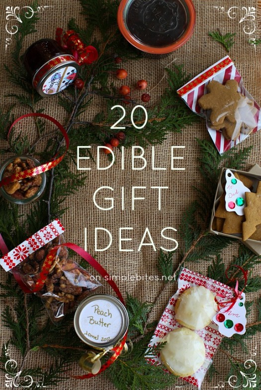My 20 favorite edible gifts recipe maple spice candied for Homemade baking gifts for christmas