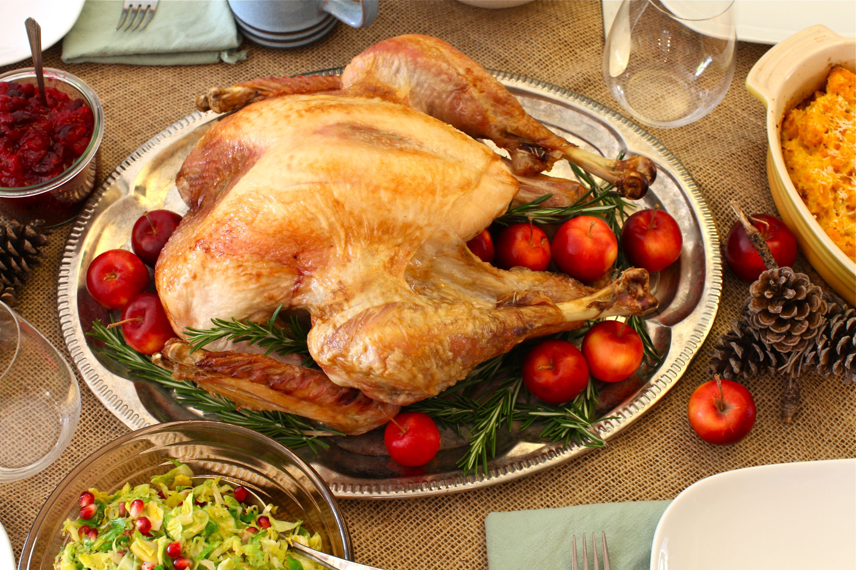 te brined roast turkey basic roast turkey recipe real simple ...