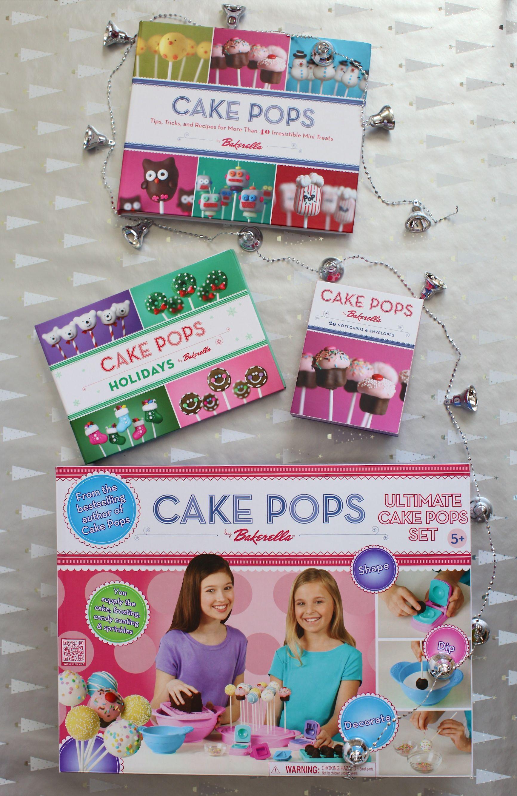 giveaway the ultimate cake pops set cookbooks simple bites. Black Bedroom Furniture Sets. Home Design Ideas