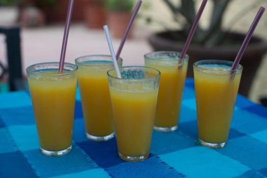 Orange juice at Claritas