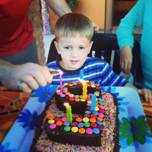 Mateo's Mexican birthday