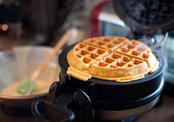 How to freeze a big batch of homemade waffles