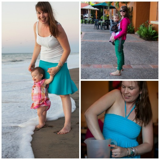 Outfits for Traveling with kids in Mexico