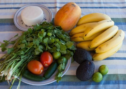 Mexican market produce