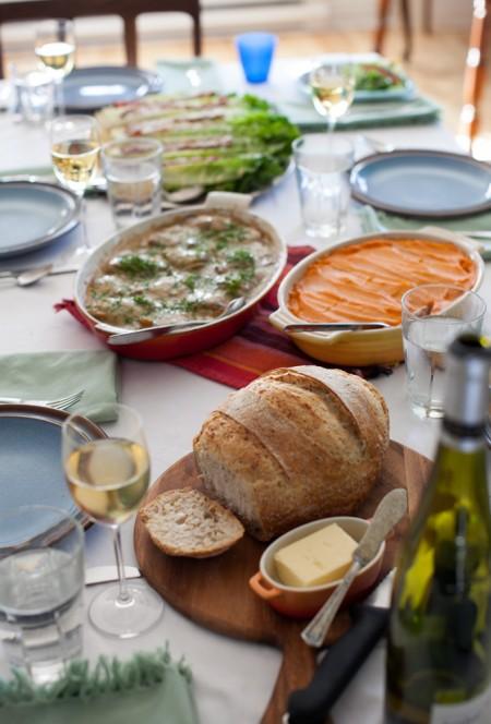 A Sunday Dinner do-ahead menu