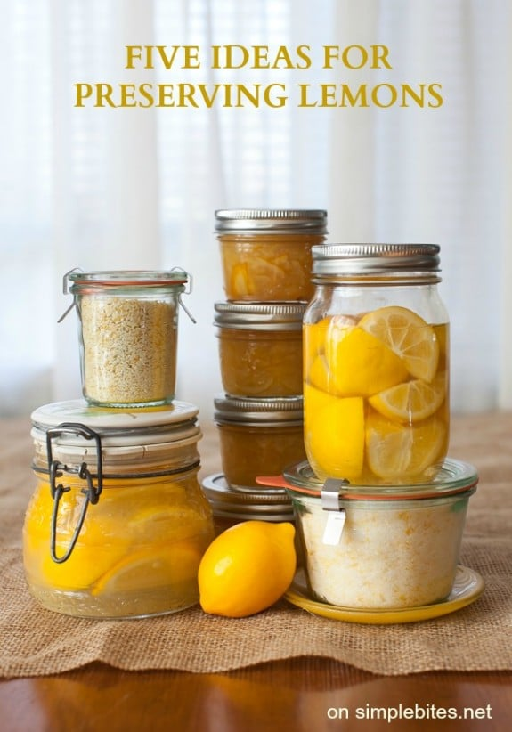 5 ideas for preserving lemons on simplebites.net